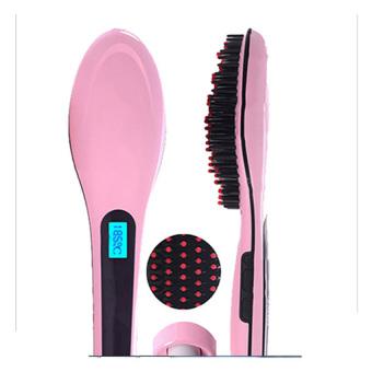 Lược điện tự động chải thẳng tóc HQT906 (Hồng)