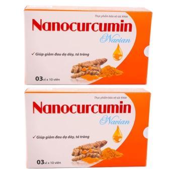 Bộ 2 Hộp Nanocurcumin Navian Giảm Đau Dạ Dày Tá Tràng