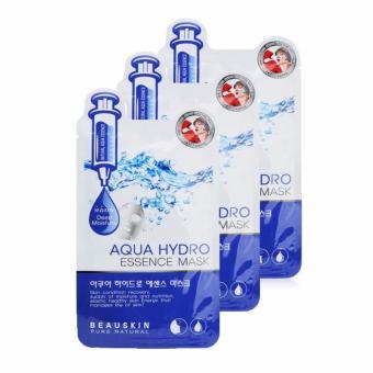 Bộ 3 Mặt nạ dưỡng da Beauskin Aqua Hydro Essence Mask