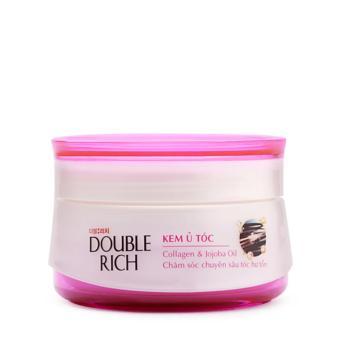 Double Rich Kem ủ Collagen & Tinh dầu Jojoba – Chăm sóc tóc hư tổn 150g