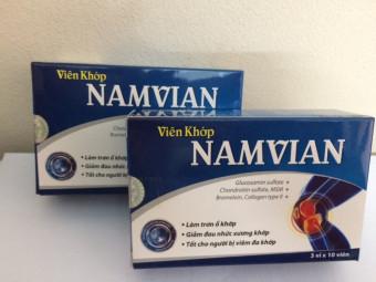 Bộ 2 hộp Viên khớp Namvian