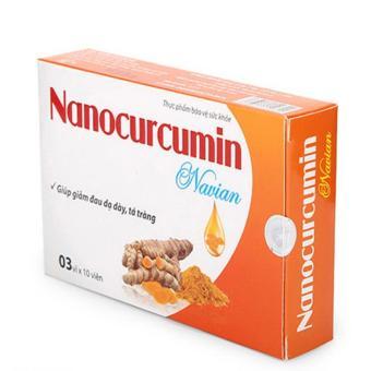 Viên uống nghệ Nanocurcumin Navian giảm đau dạ dày tá tràng