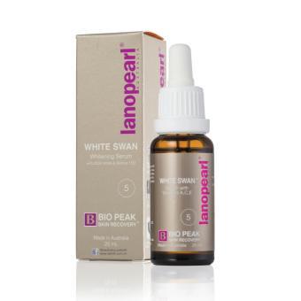 Tinh chất dưỡng trắng da LANOPEARL White Swan Whitening Serum 25ml