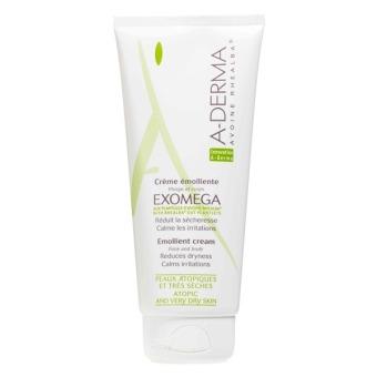 Kem chăm sóc da khô đến rất khô Exomega Emollient Cream A-Derma 200ml