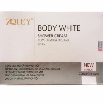 Kem tắm siêu trắng Zoley 6 in 1