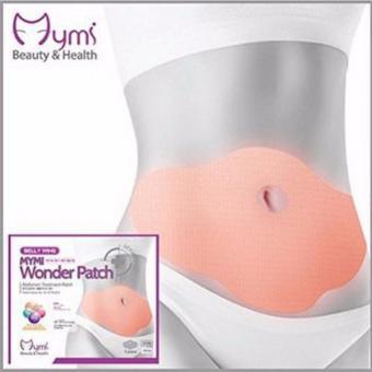 Miếng dán giảm mỡ bụng Wonder Patch hộp 5 cái