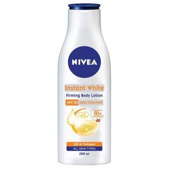 Sữa dưỡng thể giúp săn da và dưỡng trắng NIVEA Instant White Firming Body Lotion SPF30 PA++ 200ml