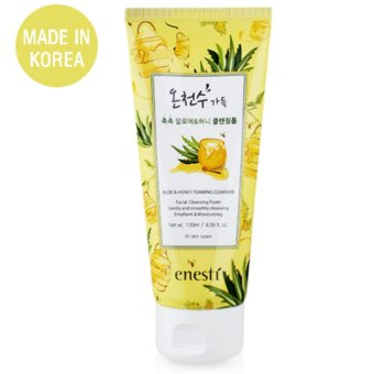 Sữa Rửa Mặt Lô Hội, Mật Ong Suanbo Spa Aloe & Honey Foaming Cleanser 120ml - Hàng Chính Hãng