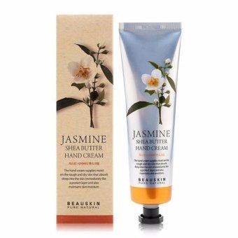 Kem dưỡng Trắng da tay từ hoa nhài Beauskin Jasmine Shea Butter Hand Cream 100ml