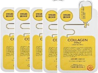 Bộ 5 mặt nạ Mediheal Collagen Impact Essential Mask
