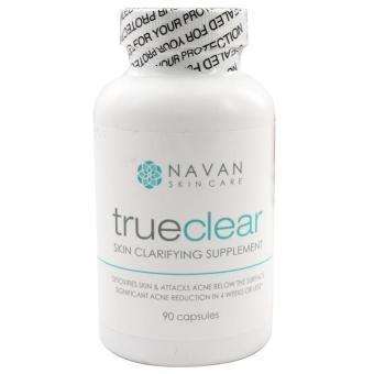 Viên hỗ trợ điều trị ngăn ngừa mụn Navan Skin Care TrueClear