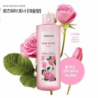 Nước hoa hồng Mamonde Rose Water Toner chiết xuất 90,89% nước hoa hồng 150ml