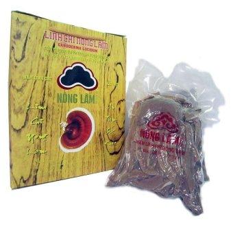 Nấm Linh Chi Nông Lâm Thái Lát 500g