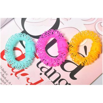 Bộ 6 dụng cụ uốn tóc lò xo (Nhiều màu)