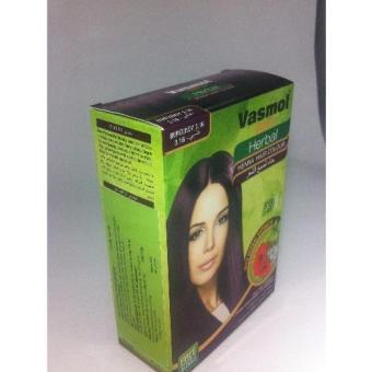 Combo 2 hộp nhuộm tóc bạc Vasmol Henna (Đỏ tía)