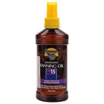 Dầu tắm nắng bảo vệ da Banana Boat Protective Tanning Oil SPF15 236ml