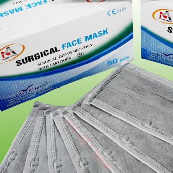 Hộp khẩu Trang Than Hoạt Tính - Surgical Face Mask-Nam Anh
