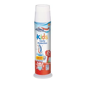 Kem đánh răng Aquafresh Kids Bubble Mint 130g