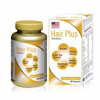Viên mọc tóc và chống hói đầu Hair Plus 60 viên