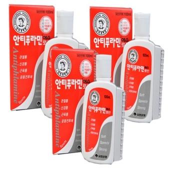 Bộ 3 chai dầu xoa bóp Korea Antiphlamine 100ml