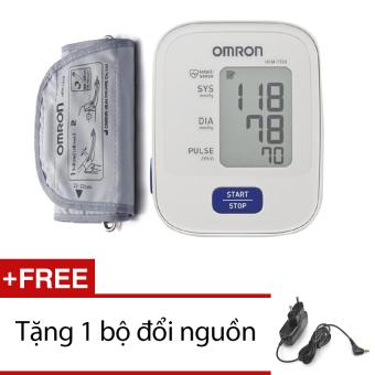 Máy đo huyết áp bắp tay Omron HEM-7120 + Tặng bộ đổi nguồn
