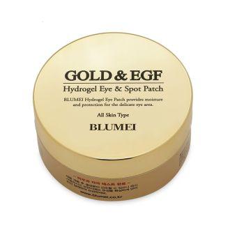 Hộp 60 miếng mặt nạ dưỡng da vùng mắt Blumei Gold & EGF Hydrogel Eye & Spot Patch 60pcs