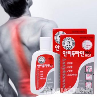Dầu nóng xoa bóp Antiphlamine Hàn Quốc (100ml) - BV