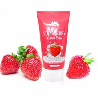 Mặt nạ dưỡng ẩm sữa chua dâu Strawberry Yogurt Mark Narguerite (130ml)
