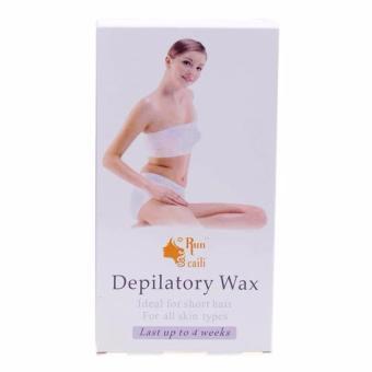 Hộp wax lông lạnh Run Caili Depilatory Wax (Trắng)