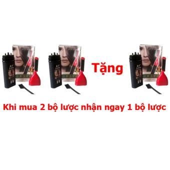 Bộ 2 lược nhuộm tóc thông minh Ailiang + Tặng Lược nhuộm tóc thông minh Ailiang (đen)