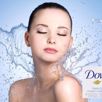 Xà Bông Tắm Dove Trắng 100g
