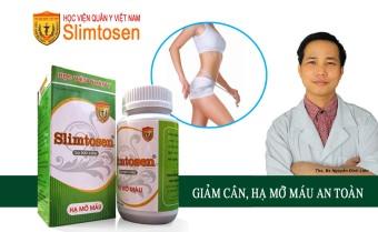 Thuốc giảm cân, hạ mỡ máu slimtosen extra HVQY VIỆT NAM - Hàng nhập khẩu