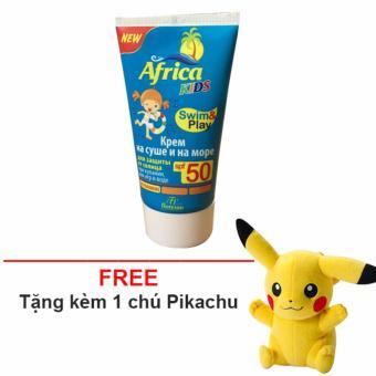Kem chống nắng cho trẻ africa SPF 50 + Tặng 1 gấu bông Pikachu