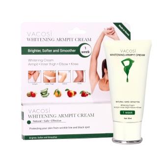 Kem làm trắng sáng vùng da dưới cánh tay Vacosi Whitening Armpit Cream 30ml