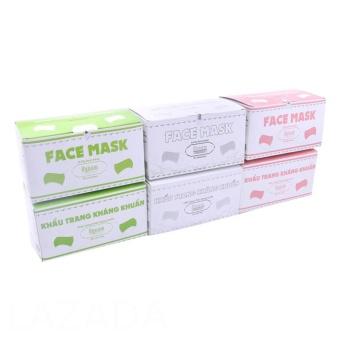 Bộ combo 6 hộp khẩu trang y tế kháng khuẩn HyNam