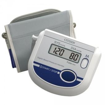 Máy đo huyết áp bắp tay Citizen CH-452 AC (Trắng)