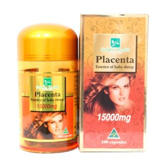 Nhau thai cừu Golden Health Placenta 15000mg 100 viên