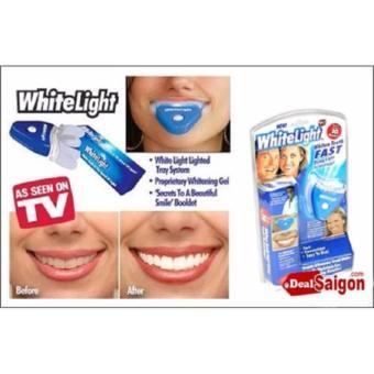 máy Làm trắng răng TẠI NHÀ sử dụng dụng cụ WHITE LIGHT