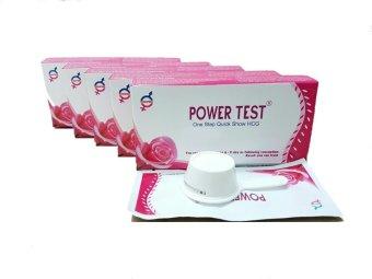 Bộ 5 hộp Que thử thai Powertest 1 que
