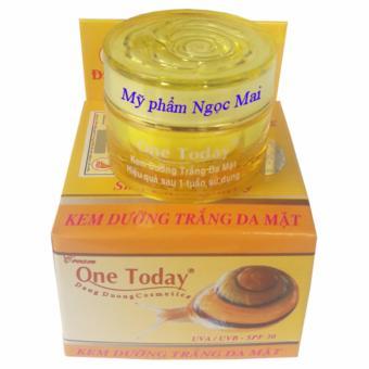 Kem dưỡng trắng da mặt ONE TODAY (10g)