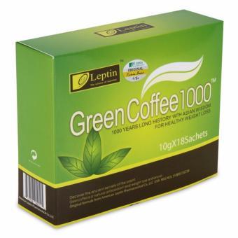 Cafe Xanh Giảm Cân, Tan Mỡ Green Coffee 1000