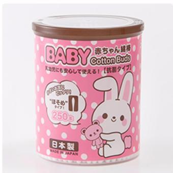 Set 250 bông ngoáy tai kháng khuẩn cao cấp cho bé nhập khẩu từ Nhật Bản