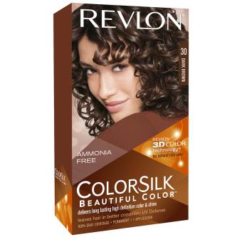 Thuốc nhuộm tóc REVLON COLORSILK - 30 DARK BROWN