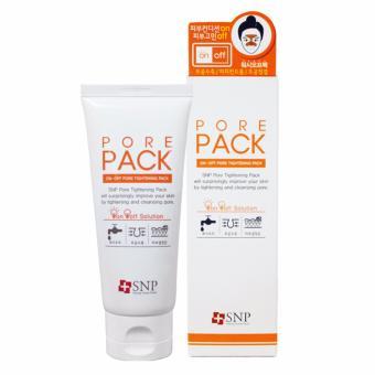 Mặt nạ bùn se khít lỗ chân lông SNP On-off Pore Contraction Pack wash-off pack