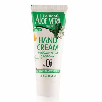 Kem dưỡng da tay chiết xuất Nha đam và Trà trắng Farmasi Hand Cream