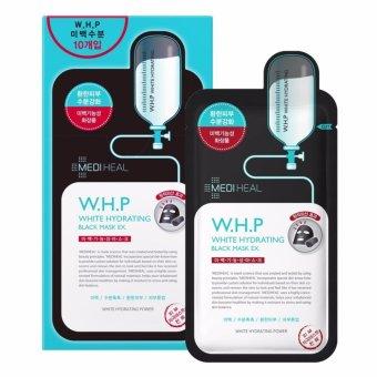 Mặt nạ Than hoạt tính dưỡng da sáng mịn Mediheal W.H.P White Hydrating Charcoal-Mineral Mask 25ml