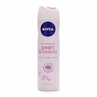Xịt Ngăn Mùi Nữ Ngọc Trai Đẹp Quyến Rũ Nivea Pearl & Beauty Anti-Perspirant 48h Spray 150ml
