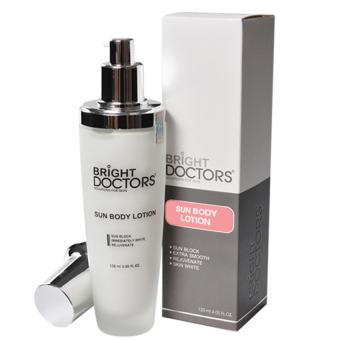 Kem dưỡng thể chống nắng Bright Doctors Sun Body Lotion 120ml