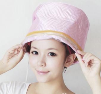 Mũ hấp tóc cá nhân 9 mức nhiệt (Hồng)