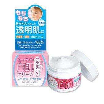 Kem dưỡng ẩm, trắng da tinh chất nhau thai Placenta White Label 60g